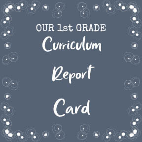 1st Grade Report Card
