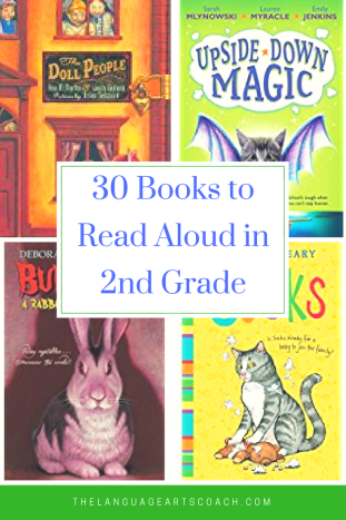30 Books to Read Aloud in 2nd Grade Pinterest Graphic