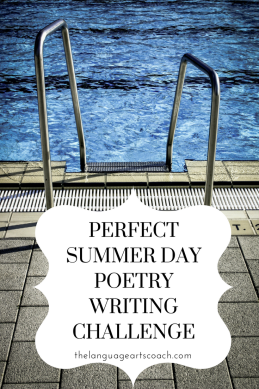 Summer poetry writing challenge