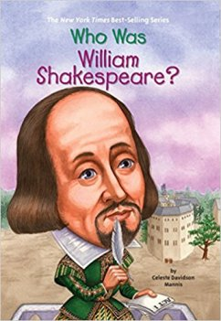 Who Was William Shakespeare book cover